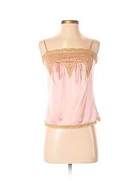 Moda International Sleeveless Silk Top Size XS