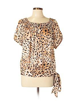 Agora Short Sleeve Blouse Size M