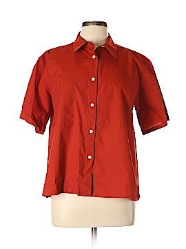 Rachel Comey Short Sleeve Button-Down Shirt Size 6