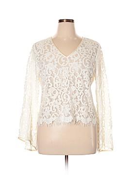 Karen Kane Long Sleeve Blouse Size XL