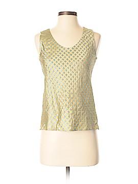 Silk Box Sleeveless Silk Top Size 4