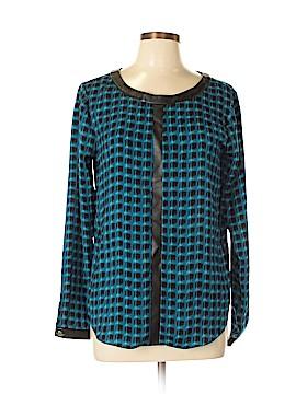 DKNYC Long Sleeve Blouse Size M