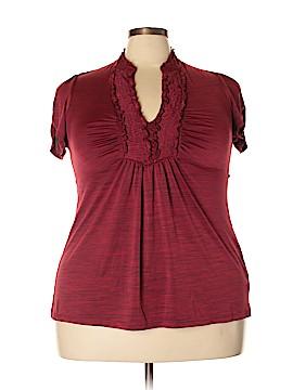 Heart Soul Short Sleeve Top Size 3X (Plus)