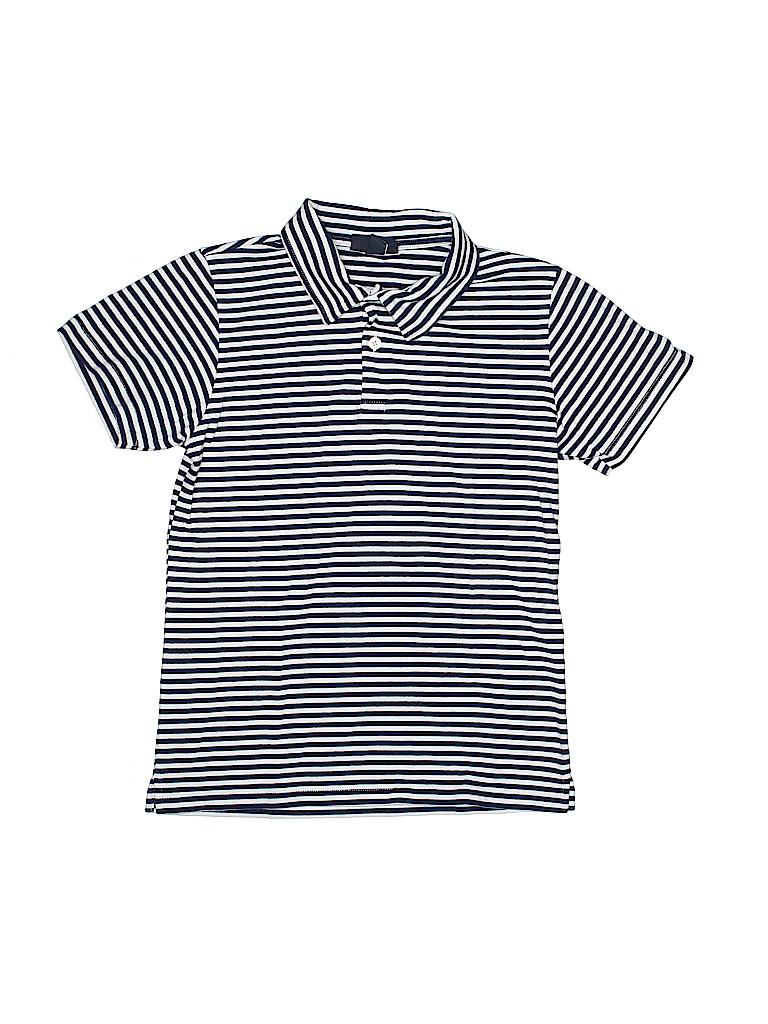 Oscar De La Renta Boys Short Sleeve Polo Size 14