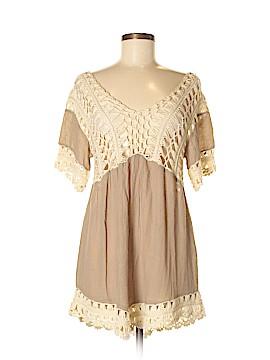 Kori America Short Sleeve Blouse Size M