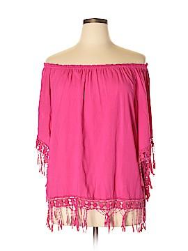 Sunny Leigh 3/4 Sleeve Blouse Size XL
