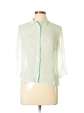 Tommy Hilfiger 3/4 Sleeve Silk Top Size 8