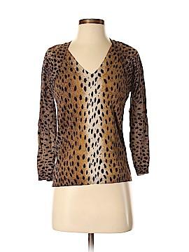 MICHAEL Michael Kors Silk Pullover Sweater Size S