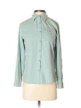 Eastern Mountain Sports Long Sleeve Button-Down Shirt Size XS