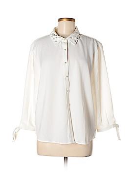 Marc New York 3/4 Sleeve Button-Down Shirt Size XL