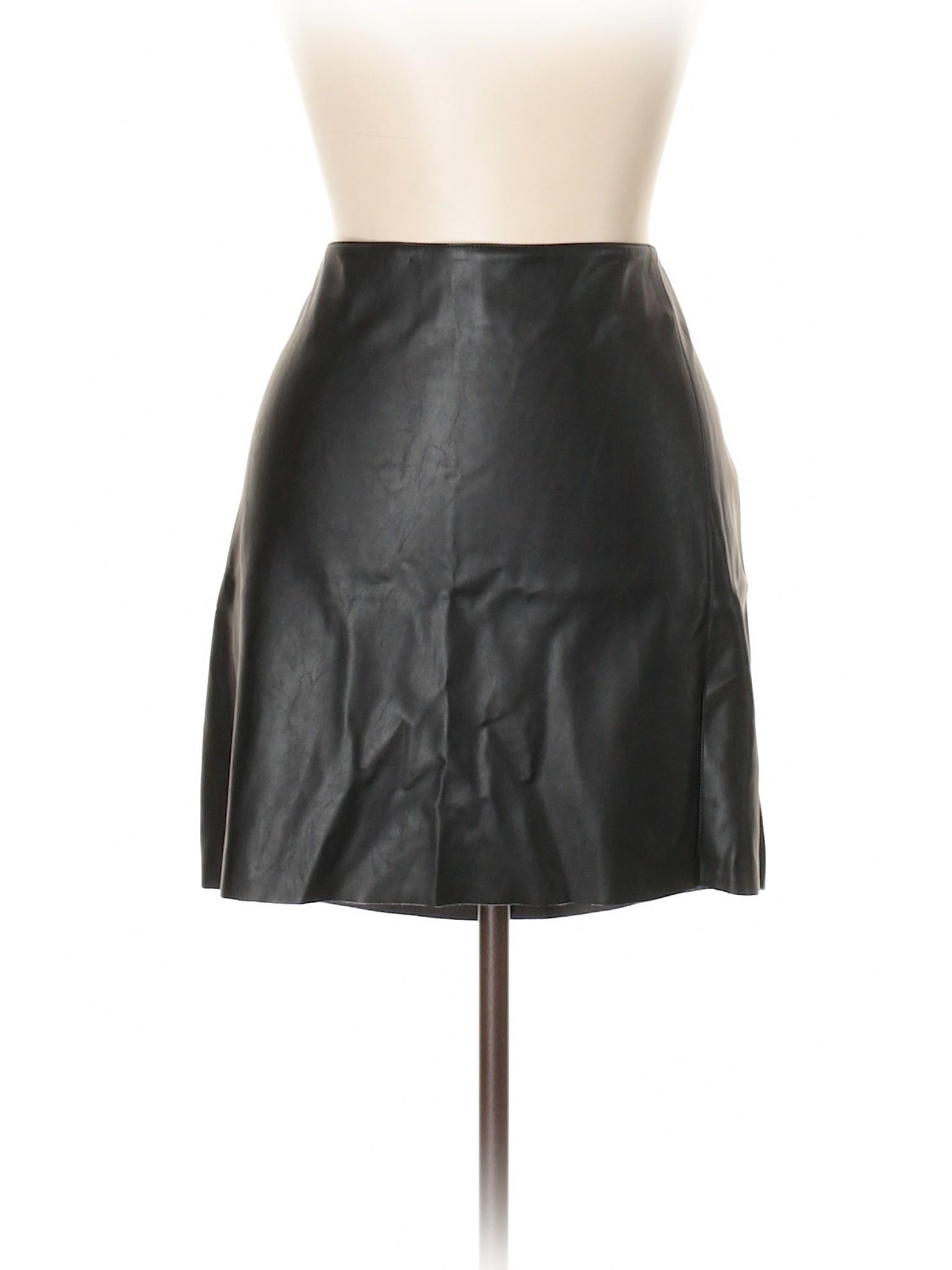 Boutique Boutique Faux Boutique Skirt Skirt Leather Faux Leather Faux rRAXpxrq