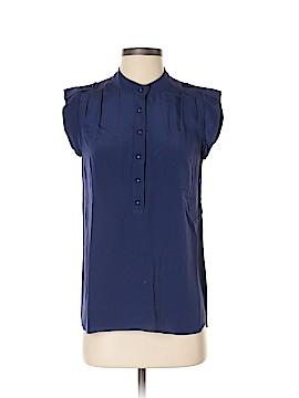 Shoshanna Short Sleeve Silk Top Size 2