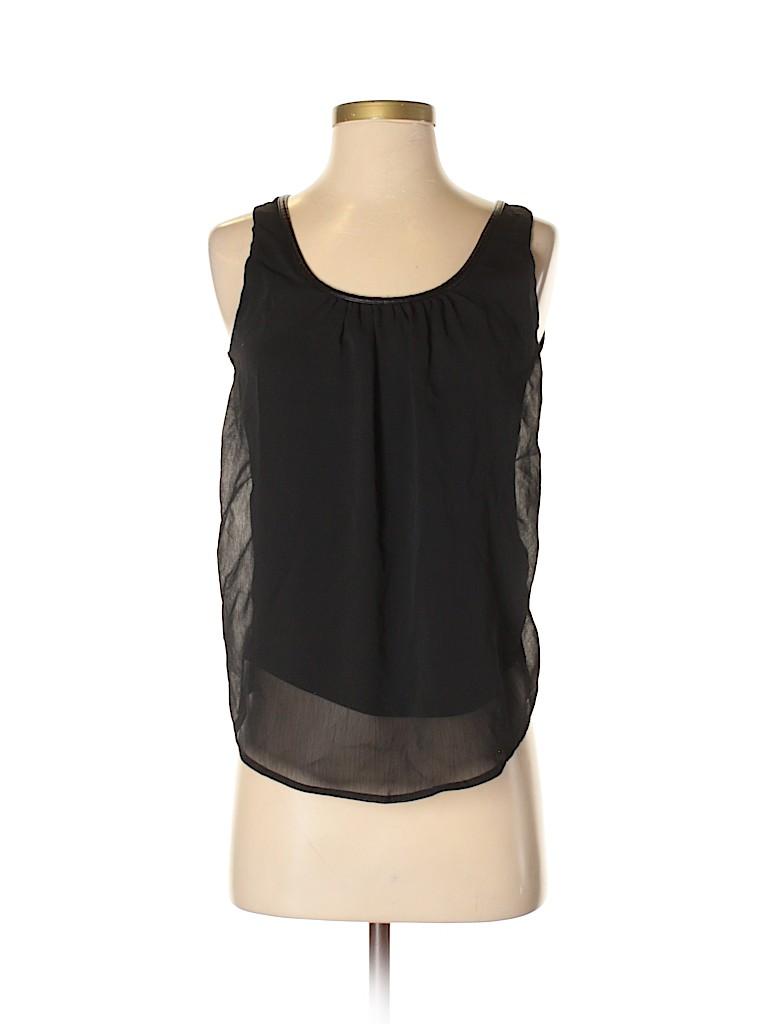 1d913976612b6b Banana Republic Solid Black Sleeveless Blouse Size XS - 86% off ...