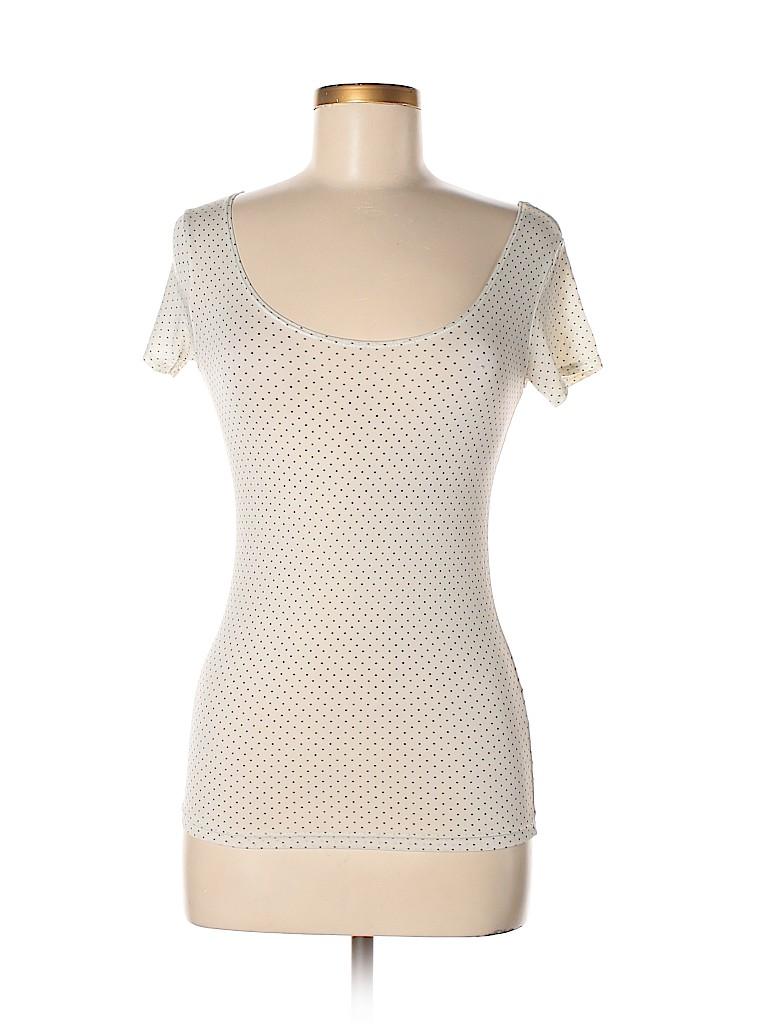 e918cd5653 Uniqlo Polka Dots White Short Sleeve T-Shirt Size XS - 87% off | thredUP