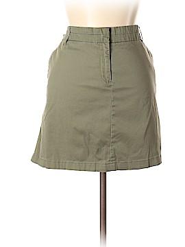 British Khaki Casual Skirt Size 14
