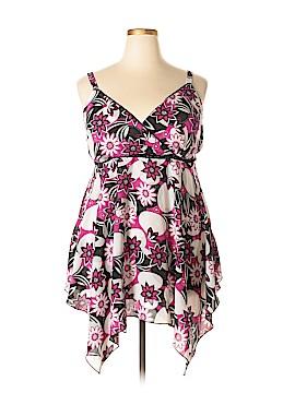 Fashion Bug Sleeveless Blouse Size 18 (Plus)