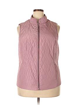 Croft & Barrow Vest Size 1X (Plus)