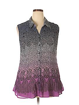 Fashion Bug Sleeveless Blouse Size 3X (Plus)