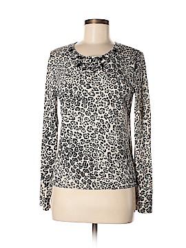 Jones New York Signature Silk Pullover Sweater Size M