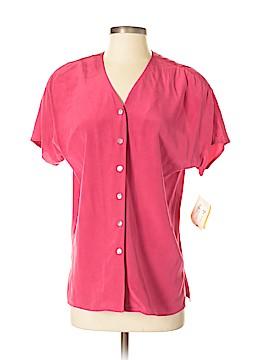 Preston & York Short Sleeve Silk Top Size 4