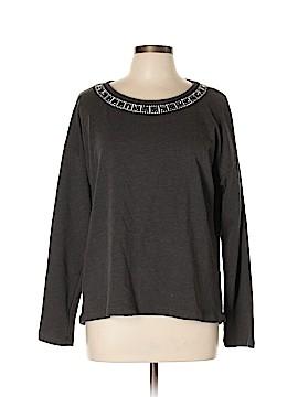 Black Saks Fifth Avenue Sweatshirt Size L