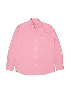 Crewcuts Long Sleeve Button-Down Shirt Size 12
