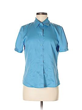 Alex Marie Short Sleeve Button-Down Shirt Size 6