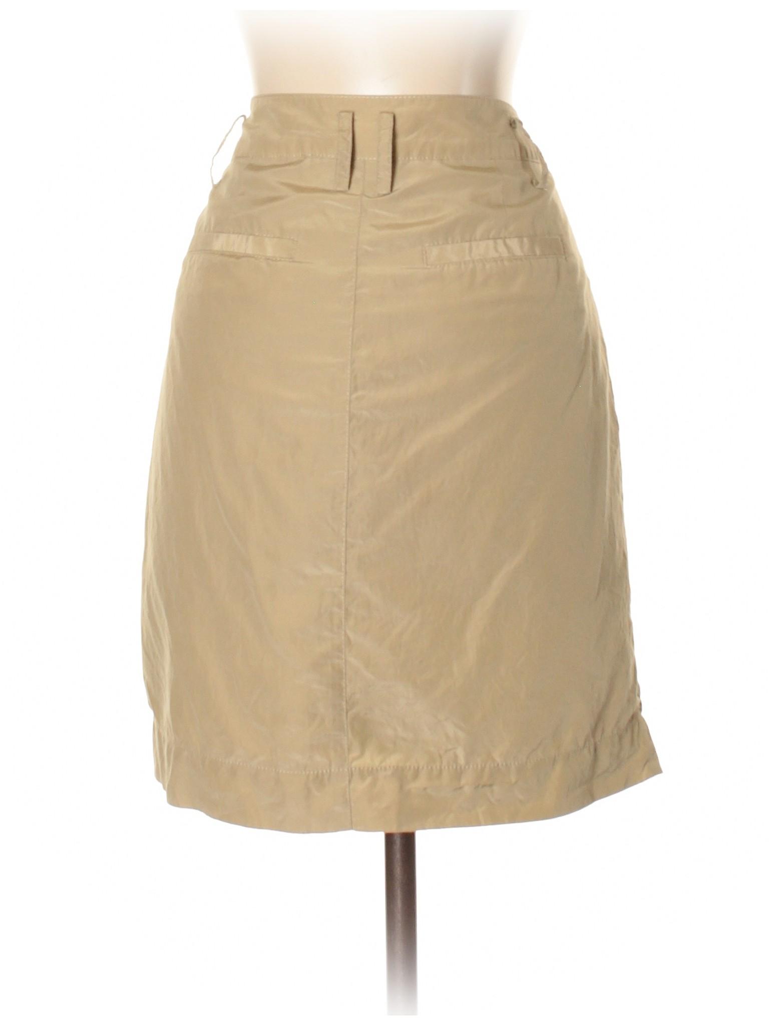 Boutique Skirt Republic Silk Banana leisure UrUqWnBOZ