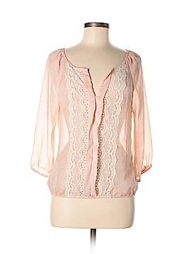 Stoosh Long Sleeve Blouse Size M