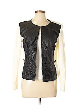 Ellen Tracy Faux Leather Jacket Size M