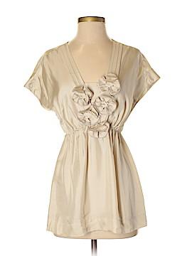 Alfani Short Sleeve Silk Top Size 4