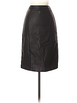 Calvin Klein Faux Leather Skirt Size 2