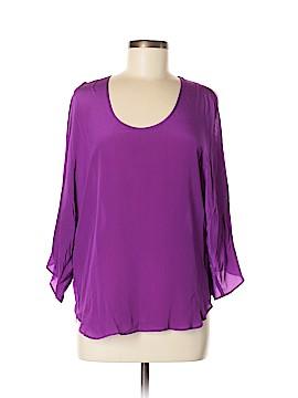 S.Y.L.K. 3/4 Sleeve Blouse Size M