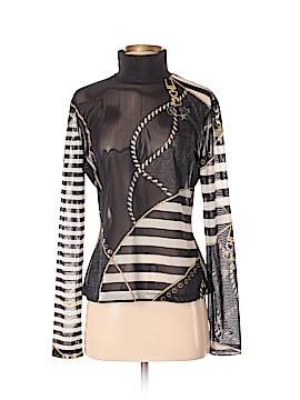 St. John Sport Long Sleeve Blouse Size M