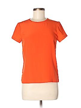 Thomas Pink Short Sleeve Silk Top Size 8