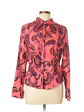 Bandoli Long Sleeve Button-Down Shirt Size L