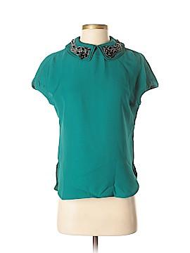 Magaschoni Short Sleeve Blouse Size 6