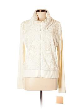 Ellen Tracy Faux Fur Jacket Size L