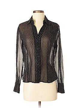 Ann Taylor LOFT Outlet Long Sleeve Silk Top Size 4