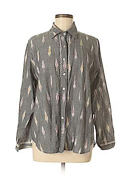 Subtle Luxury Long Sleeve Button-Down Shirt Size M