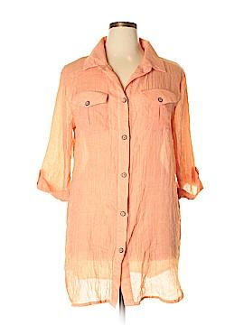Dotti Short Sleeve Blouse Size XL