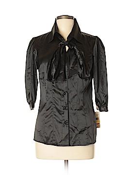 John Paul Richard 3/4 Sleeve Blouse Size M