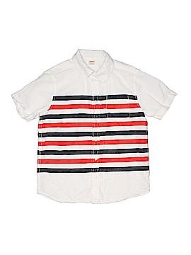 Gymboree Short Sleeve Button-Down Shirt Size 10 - 12