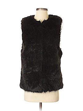 Bisou Bisou Faux Fur Vest Size S