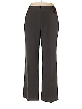 Briggs New York Dress Pants Size 16 SHORT