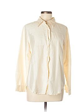 Karen Kane Long Sleeve Silk Top Size M