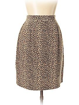 Allison Taylor Silk Skirt Size L