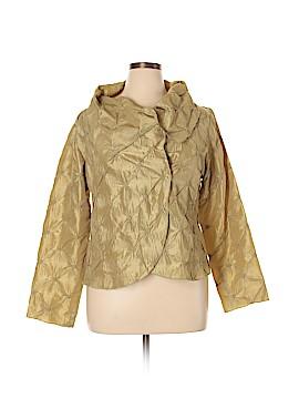 Silk Box Long Sleeve Silk Top Size XXL