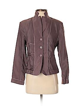 Silk Box Silk Blazer Size 2