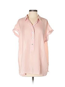 Calypso St. Barth Short Sleeve Silk Top Size XS